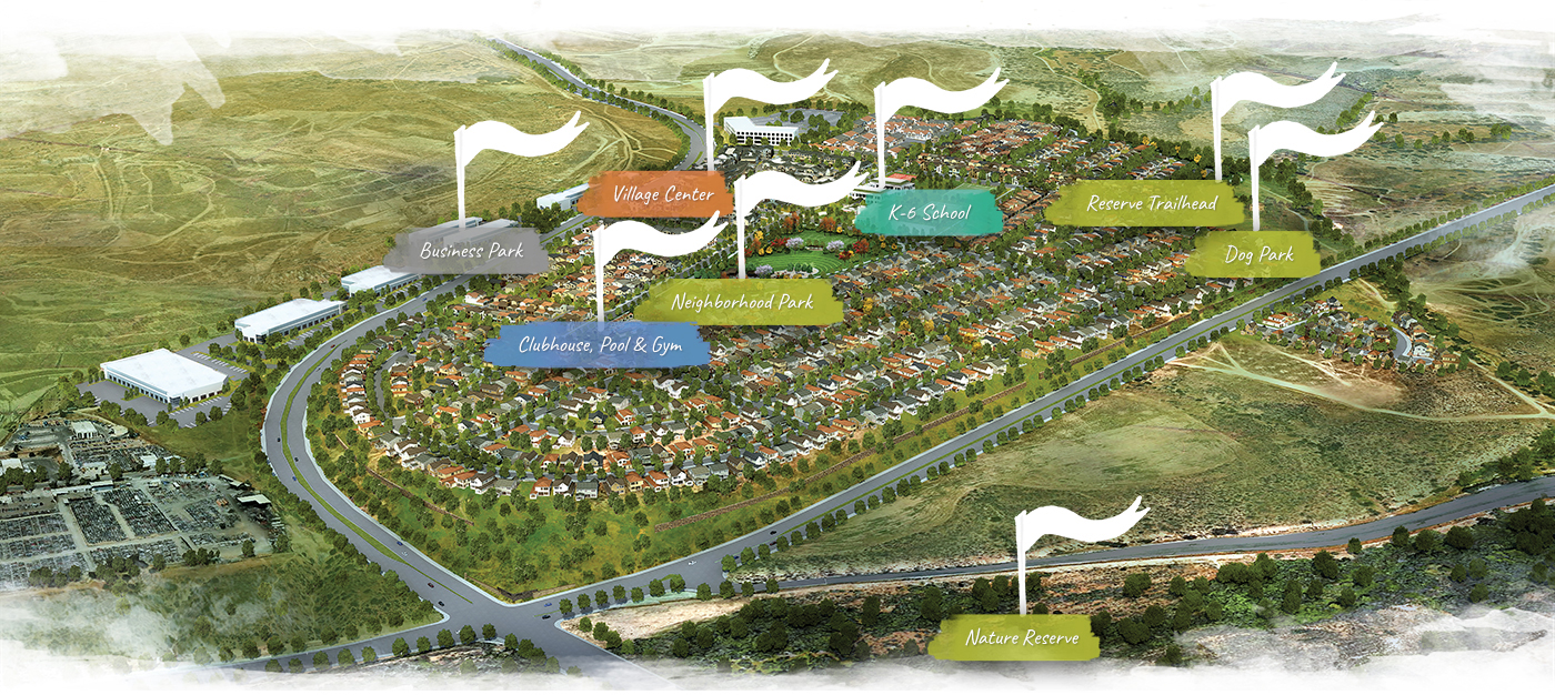 Amenities Community Map