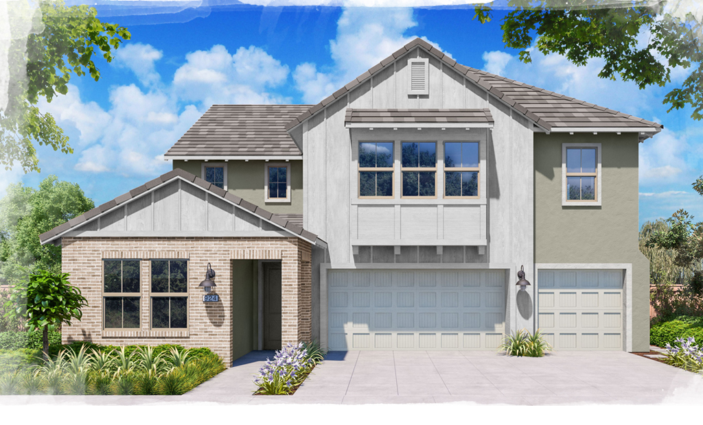 Hacienda Plan 3 Farmhouse Style Homes