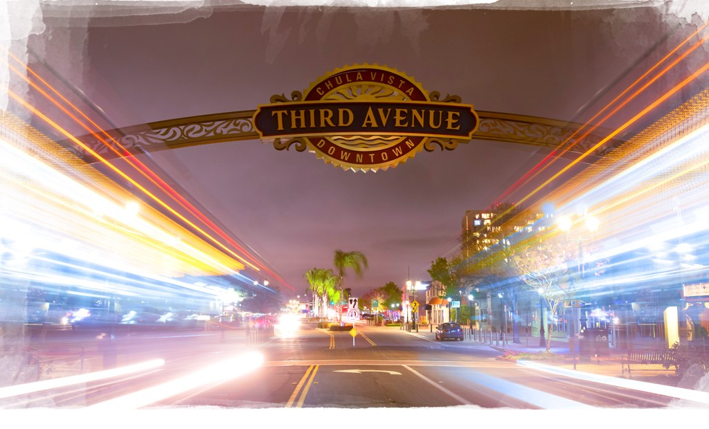 Third Avenue in downtown Chula Vista