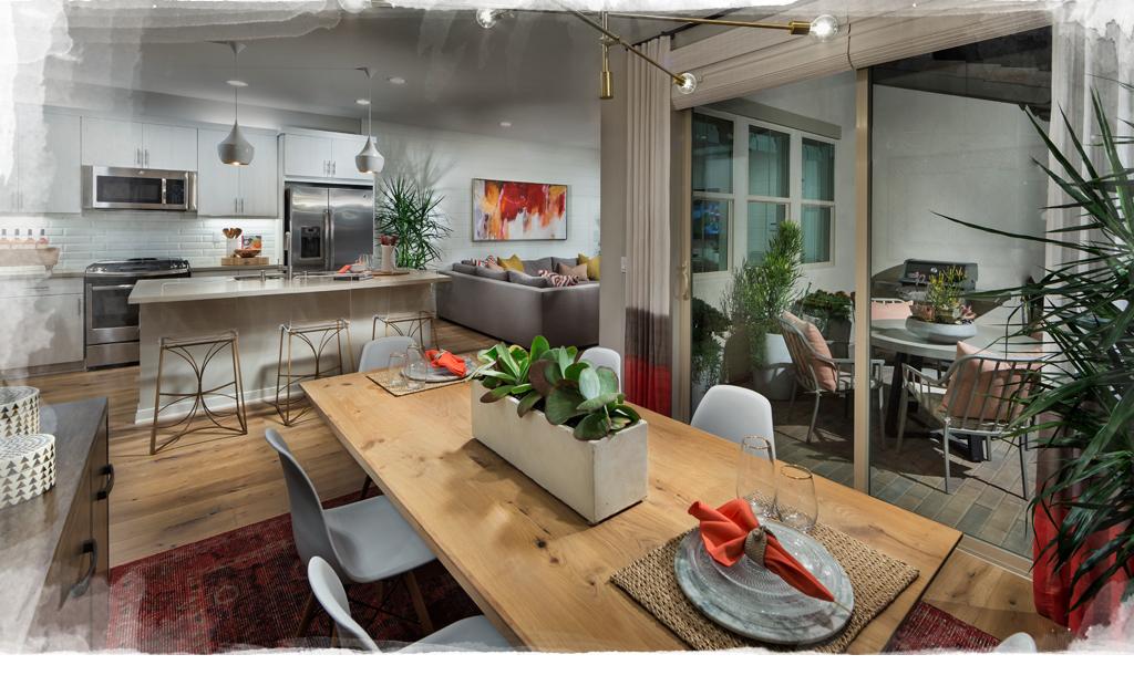 Inspiring interior design escaya community home designer - Interior design schools orange county ...