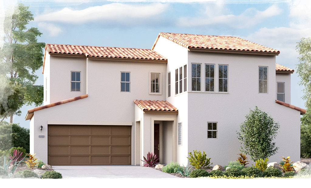 Indigo Plan 3B Spanish Style Home - Move-In Ready Home For Sale