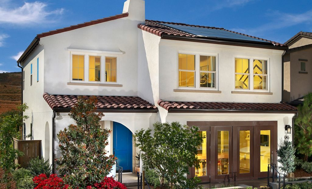 Valencia homes by Lennar